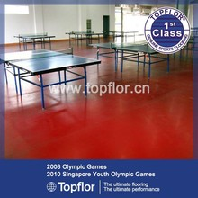 Pvc pelota de tenis de mesa / equipo de tenis de mesa