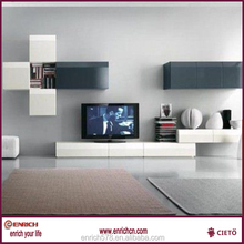 living room tv cabinet and wall unit for Australian market with project cheap price