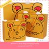 kraft paper shopping bag,Hot sale Custom printed paper shopping bag