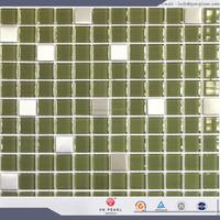glass mix metal mosaic metal and glass mosaic metal glass mosaic tile