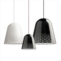 Modern Engraving Patterns Art Aluminum Christmas Bell Dining Room LED Pendant Light,M9183