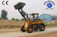 1.6 ton mini hydraulic wheel loade for sale