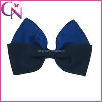 Fashion Lady Gaga Two Tone Hair Bow Clip CNHB-13090216-1W