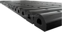 D fender rubber for dock edge