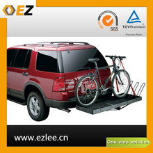 hanging hitch parking wall mounted floor car bike rack for trunk