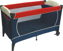 De nylon bebé cama cuna de viaje de la norma EN 716/EN71-3 plegable