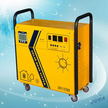 AC 1000W Output Solar power Generator system for home use 12V with 30A controller and 1KW inverter