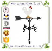 factory custom-made handmade carved fashion polyresin metal rooster