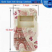 Lovely Flip Cover Case for 4 inch Mobile Phone, Universal Cell Phone Case