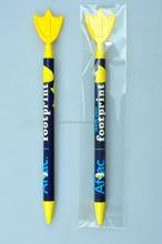 Famous Brand Topside Cartoon Customzied Advertising Plastic Ballpoint Pen /ABS Eco Ballpoint Pen /Pad Printing Ballpoint Pen