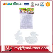 Direct selling plastic diy magic beads colour change bracelet