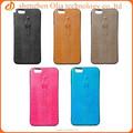 Accesorios de telefonía móvil venta caliente para el iphone6 caso, para el iphone 6 accesorios 2014 pu coating caso