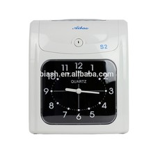 School& Office time attendance machine time recorder S-2, aibao brand