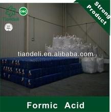 China la fábrica de ácido fórmico precio 90% desinfectante para ensilaje y