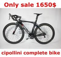 Hot ! Full carbon 795 complete bike carbon road bike,cipollini whole bike frame groupset saddle bar wheels,bicicleta road bike