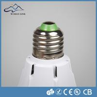 High lumen 7W microwave motion sensor led bulb 360 degree motion sensor bulb light with CE & RoHS