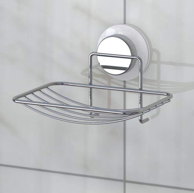 Porte savon ensemble pour salle de bains avec ventouse for Ensemble salle de bain porte savon