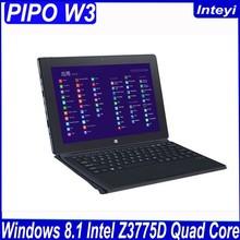 Original PIPO W3 tablet PC 10.1 inch IPS 1920x1200 Windows 8.1 Quad Core Max 2.4GHz 2GB RAM 64GB ROM Good Camera