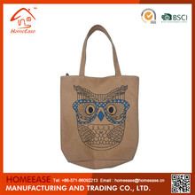 Foldable fashion promotional recycle non-woven shopping bag