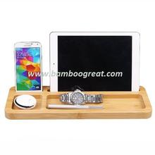 Original Color wood mobile phone holder for Ipad/Phone/Pen