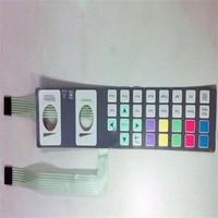 Waterproof Push Button Membrane Switch Overlay