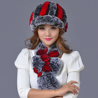 Wholesale winter knitted hat with ball top women hat sex