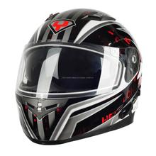 Interphone 953 casco de la cara llena bluetooth 300 m cascos de la motocicleta