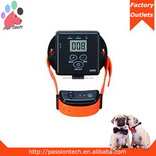 Pet-Tech X-800 NEW ARRIVAL rechargeable electric outdoor dog fence with LCD screen