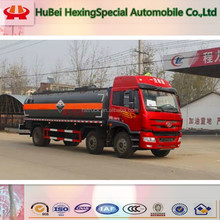 FAW 6x2 chemical corrosive tank truck for sale