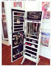 mirror jewelry cabinet wooden furniture