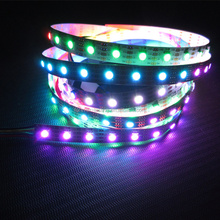 2014 New effect! APA102 72 IC 5050 IP20 NO waterproof APA102 72LED Pixel Strip 5m