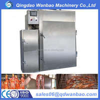 commercial stainless steel meat smoking machine/meat smoke oven/meat smoker for sale
