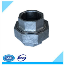BSPT Thread Malleable cast Iron pipe fitting Water Meter Union