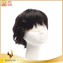 Bob Lace Wigs With Baby Hair Bangs For Small Heads