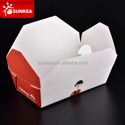 Microwaveable restaurant deli takeout food packaging container
