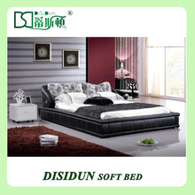 unique king size red leather bed frame