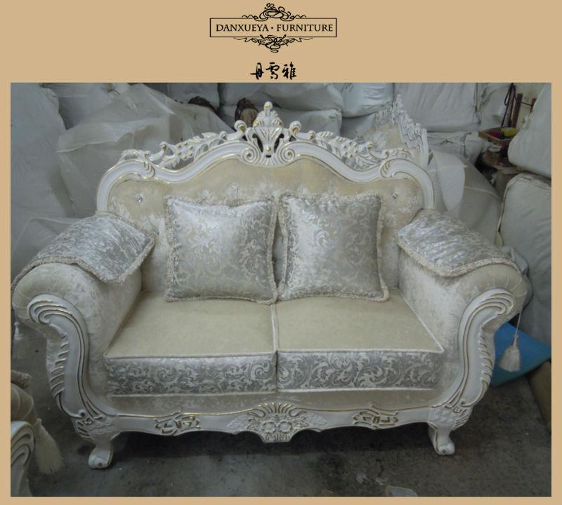marco de madera clásico nova imperial italia sofá de cuero-Otros ...