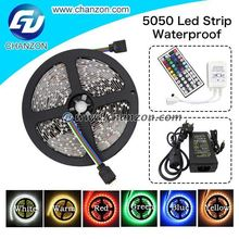 IR Remote Controller 5050 IP65 5m 12V smd Tape light Waterproof RGB led Strip color changing led light strips