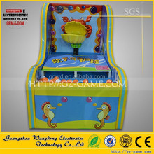 Arcade Happy Ocean Pitching Game Machine , Pitching Redemption Machine For sale