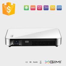 High Brightness DLP 3D Ready LED Mini latest projector mobile phone