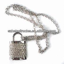 China's most popular padlock necklace jewelry usb flash drive 1 gb - 256 gb