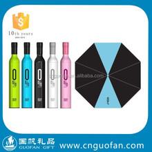 Promotional customized Wine bottle umbrella
