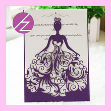 2016 very new and unique design laser cut happy wedding paper crafts cards you will find you want