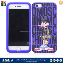 OEM new technology 3d printing silicone mobile phone case for iphone 6