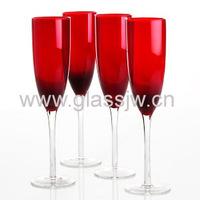 Custom Colored Champagne Glass