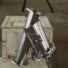 y type brush water filter manual cleaning stainless steel y strainer brass y style filter factory