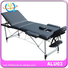 Aluminum physical therapy apparatus massage table/bed