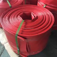 6 inch pvc irrigation lay flat hose flat pvc pipe