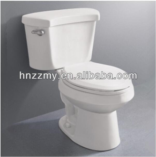 promotion toilettes sanitaires siphon deux pi ces wc toilette en c ramique avec c t levier. Black Bedroom Furniture Sets. Home Design Ideas