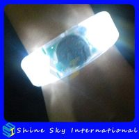 Customized Hot Sale Novelty Led Flashing Bracelet